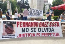 Photo of FUE HOMENAJEADO FERNANDO BAEZ SOSA CON UNA COLECTA SOLIDARIA