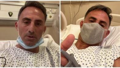 Photo of Internaron a Diego Latorre luego de contagiarse de coronavirus