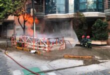 Photo of Alarma en Caballito por un escape de gas e incendio