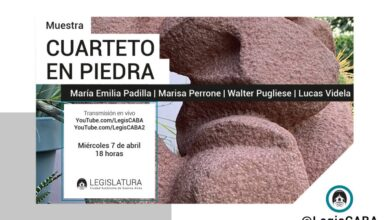 Photo of La Legislatura porteña presenta la muestra «Cuarteto en Piedra»